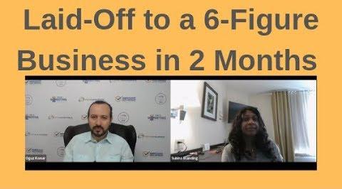 six figure home based business