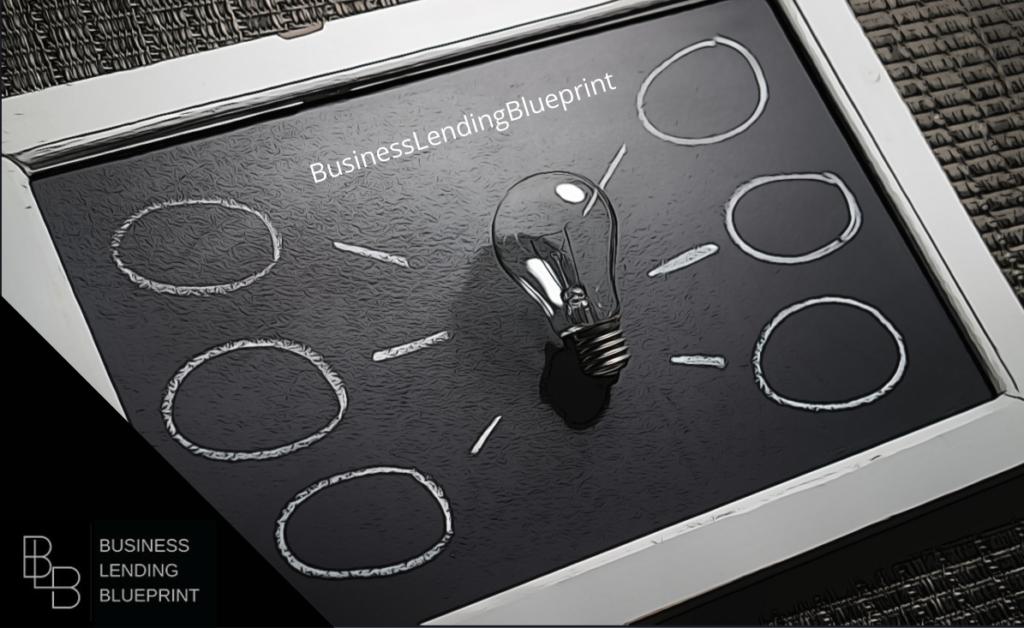 wealth bulding light bulb bbusiness lending blueprint